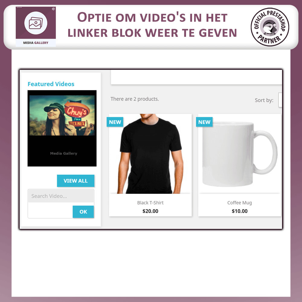 module - Virtuele producten - Media Galerij - Video Galerij - 7
