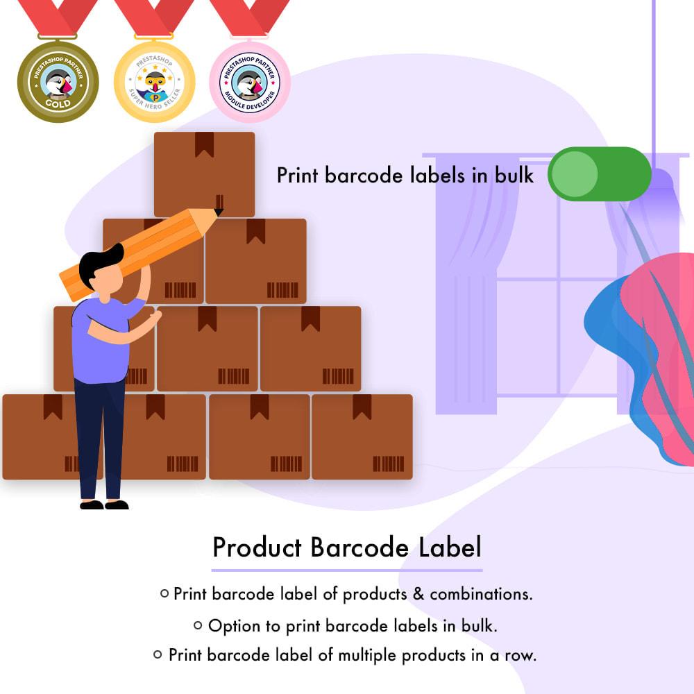 module - Voorbereiding & Verzending - Product Barcode Label | Barcode Generator - 1