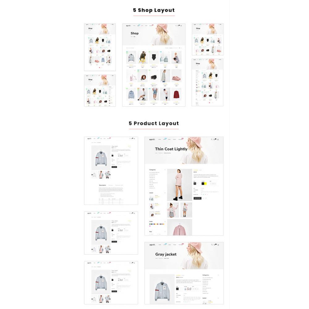 theme - Fashion & Shoes - April  Store eCommerce Bootstrap 4 - 4