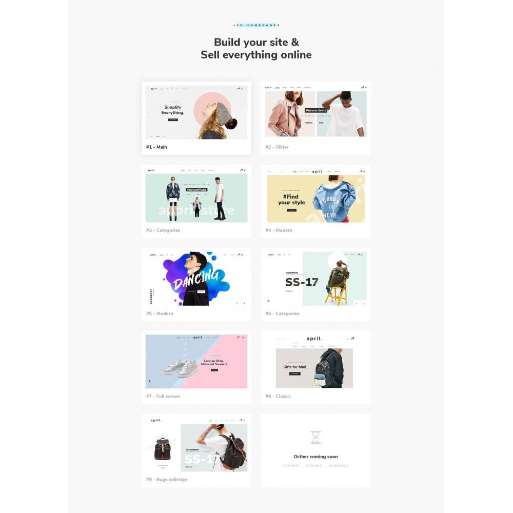 theme - Fashion & Shoes - April  Store eCommerce Bootstrap 4 - 2