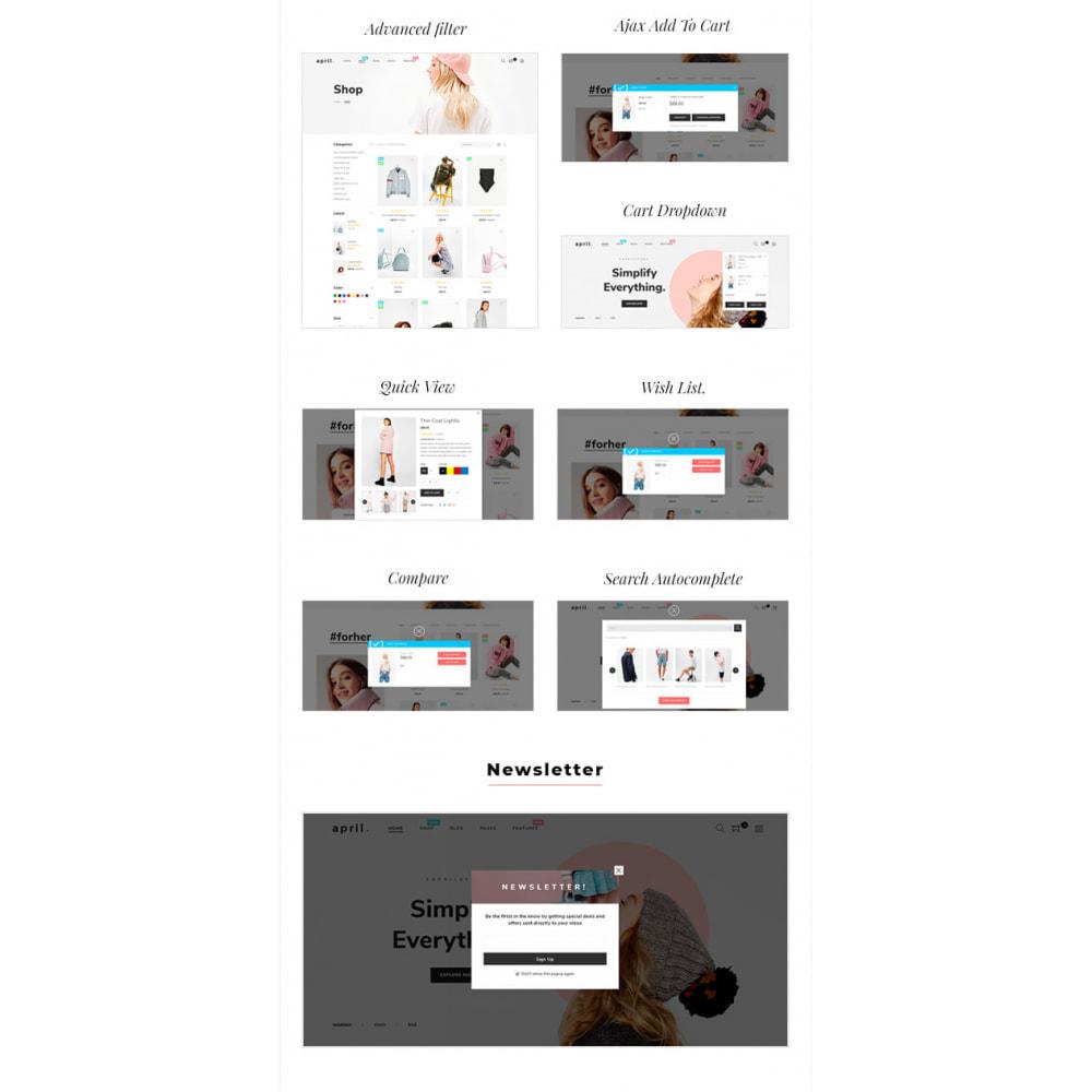 theme - Fashion & Shoes - April  Store eCommerce Bootstrap 4 - 7