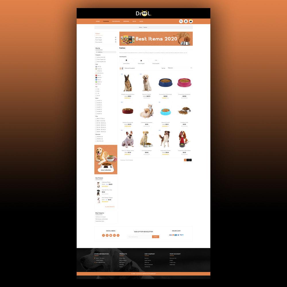 theme - Animais - Drool - Pet Store - 4