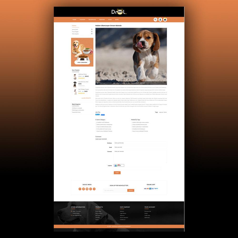 theme - Animais - Drool - Pet Store - 8
