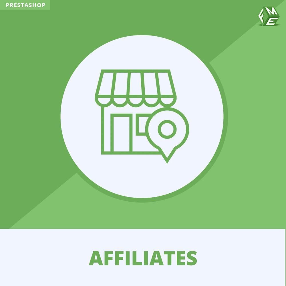 module - Betaalde vermelding & Lidmaatschap - Affiliate en verwijzingsprogramma - 1