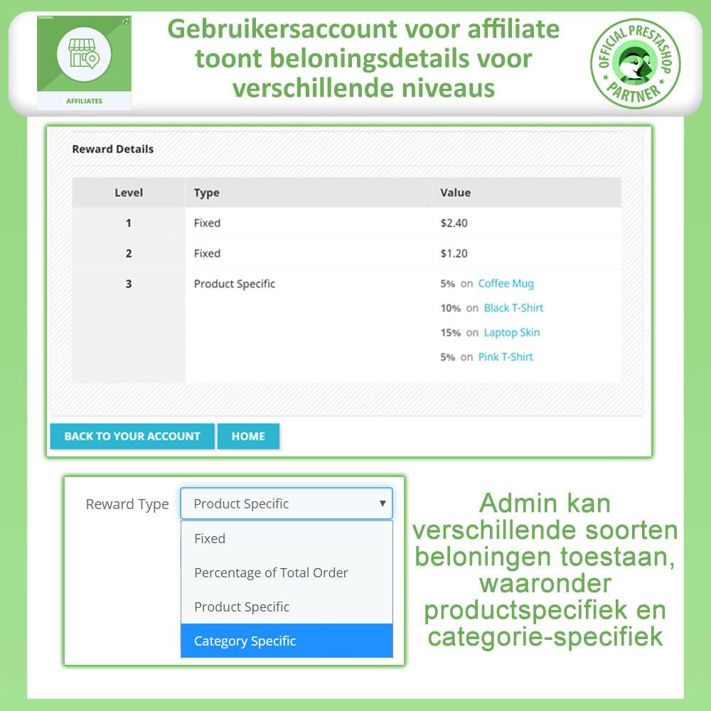 module - Betaalde vermelding & Lidmaatschap - Affiliate en verwijzingsprogramma - 2