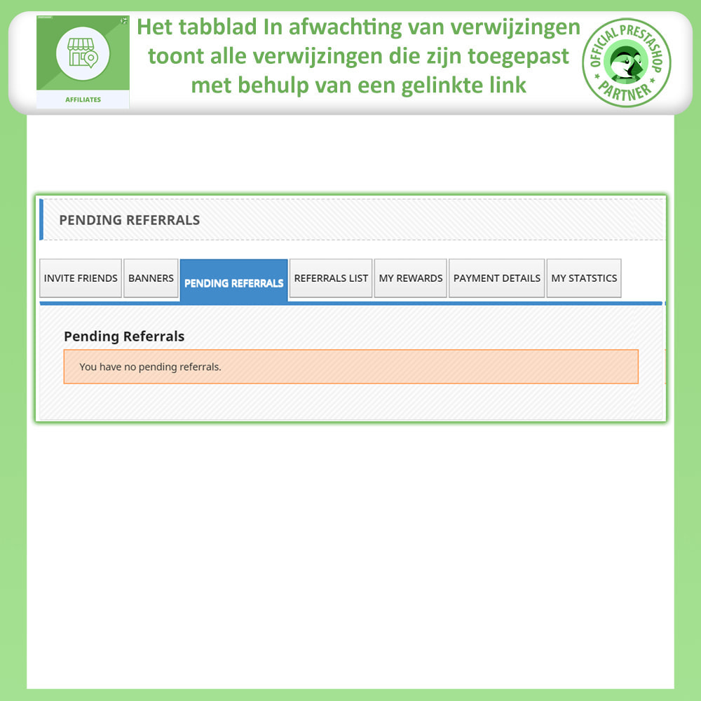 module - Betaalde vermelding & Lidmaatschap - Affiliate en verwijzingsprogramma - 10