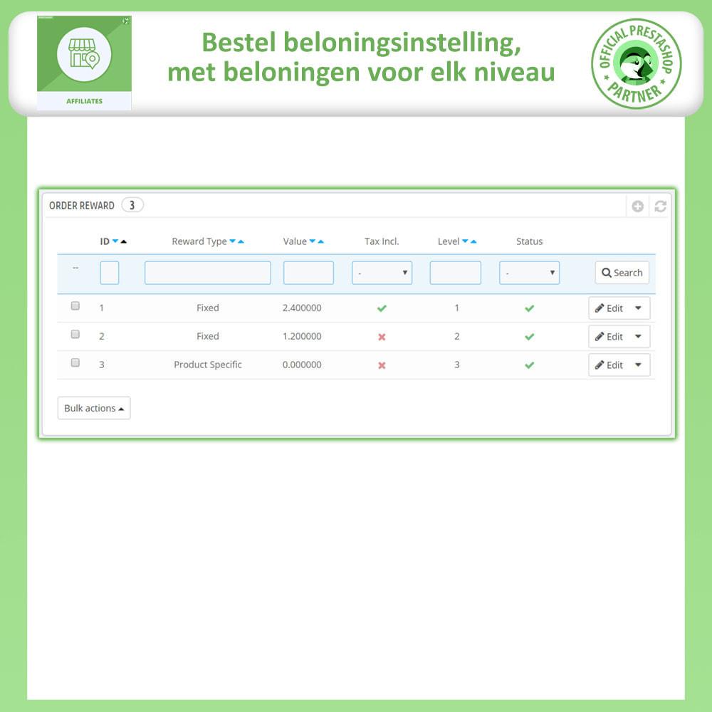 module - Betaalde vermelding & Lidmaatschap - Affiliate en verwijzingsprogramma - 17