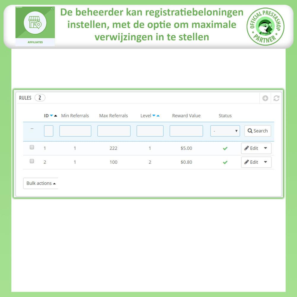 module - Betaalde vermelding & Lidmaatschap - Affiliate en verwijzingsprogramma - 19