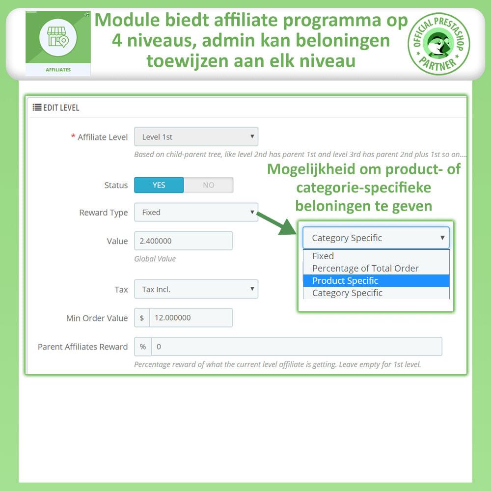 module - Betaalde vermelding & Lidmaatschap - Affiliate en verwijzingsprogramma - 21