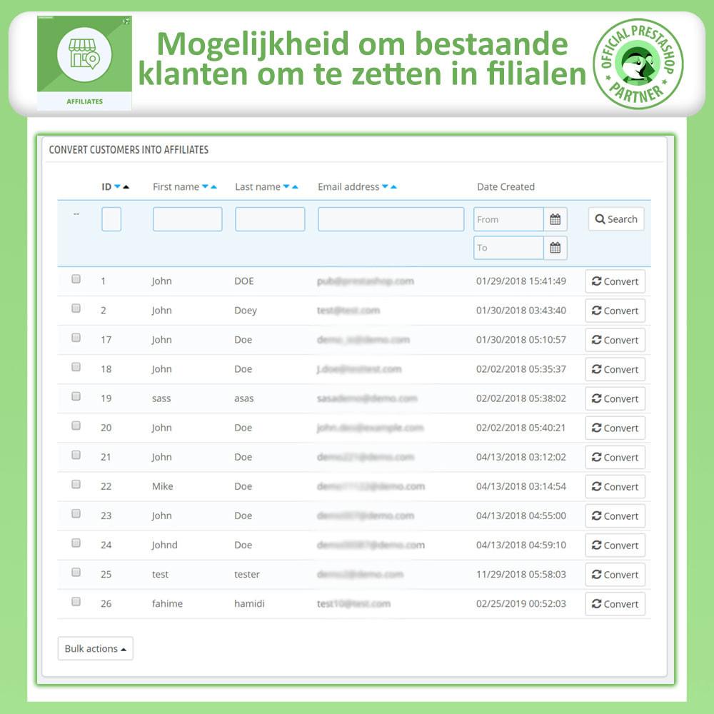 module - Betaalde vermelding & Lidmaatschap - Affiliate en verwijzingsprogramma - 25