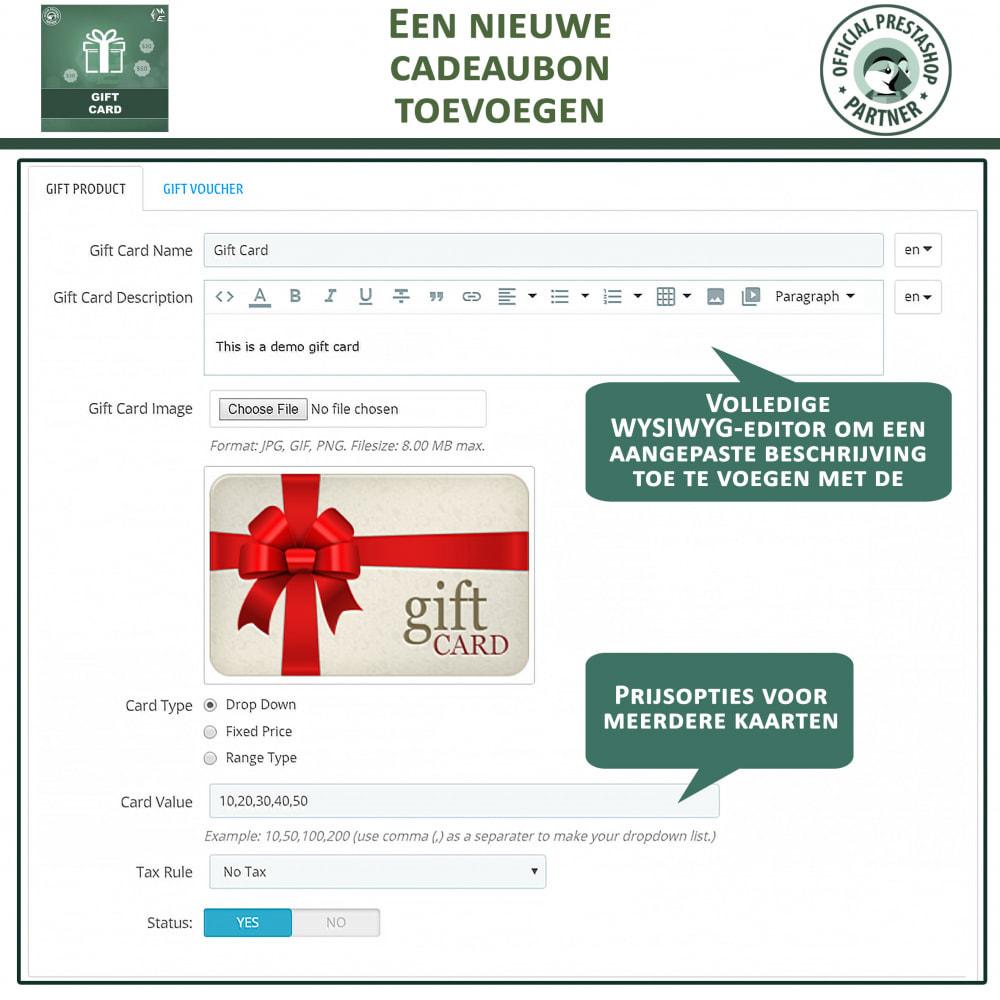 module - Verlanglijst & Cadeaubon - Cadeau Bon - 11