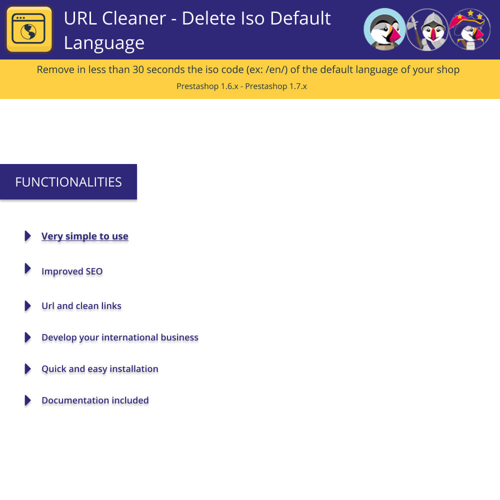module - URL & Redirects - URL Cleaner - Delete Iso Default Language - 1