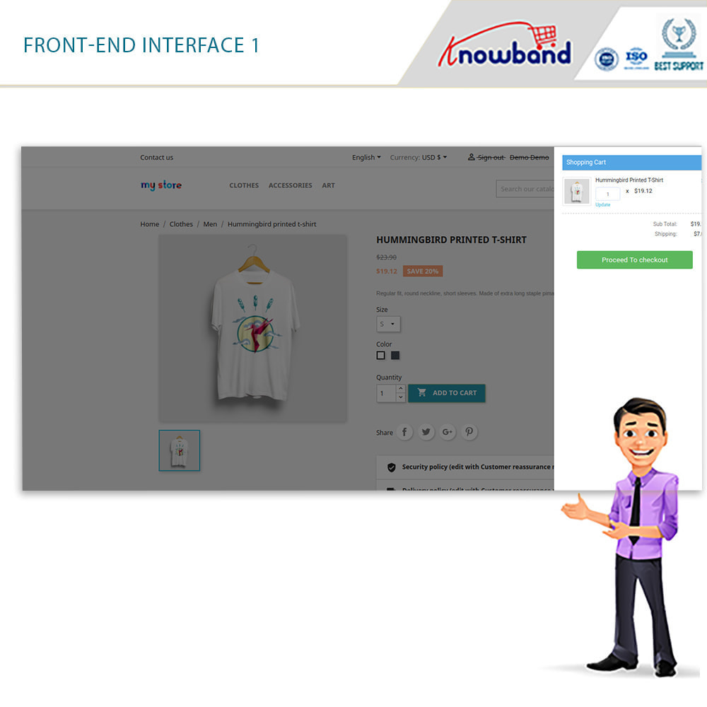 module - Proceso rápido de compra - PS Smart One Page Checkout (Quick/Easy Responsive) - 1