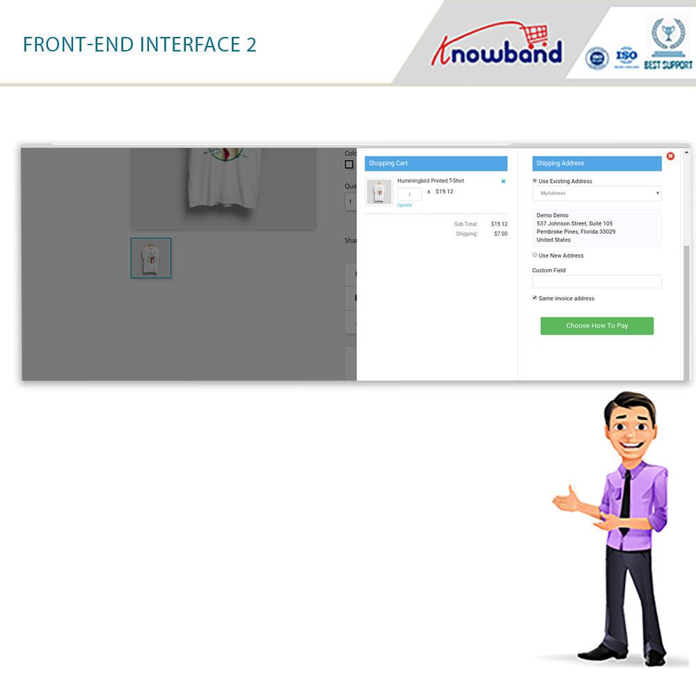 module - Proceso rápido de compra - PS Smart One Page Checkout (Quick/Easy Responsive) - 2