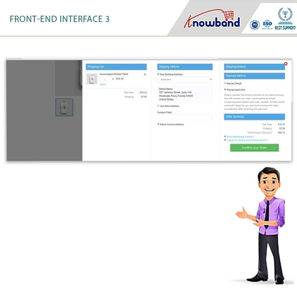 module - Proceso rápido de compra - PS Smart One Page Checkout (Quick/Easy Responsive) - 3