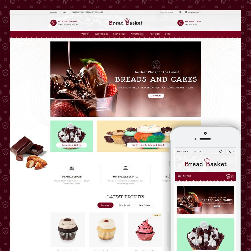 theme - Food & Restaurant - Bread Basket - Bakery Shop - 1