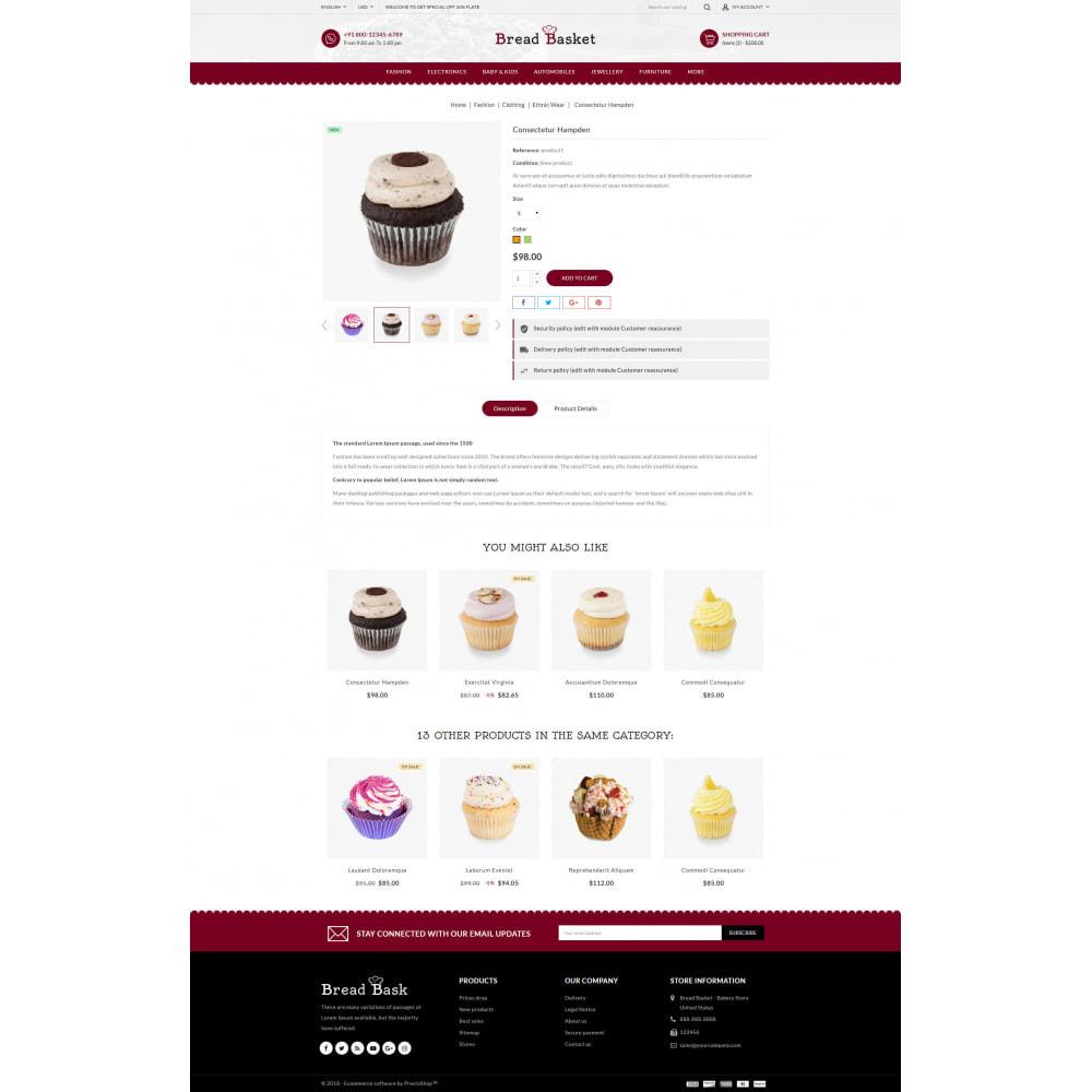 theme - Food & Restaurant - Bread Basket - Bakery Shop - 5