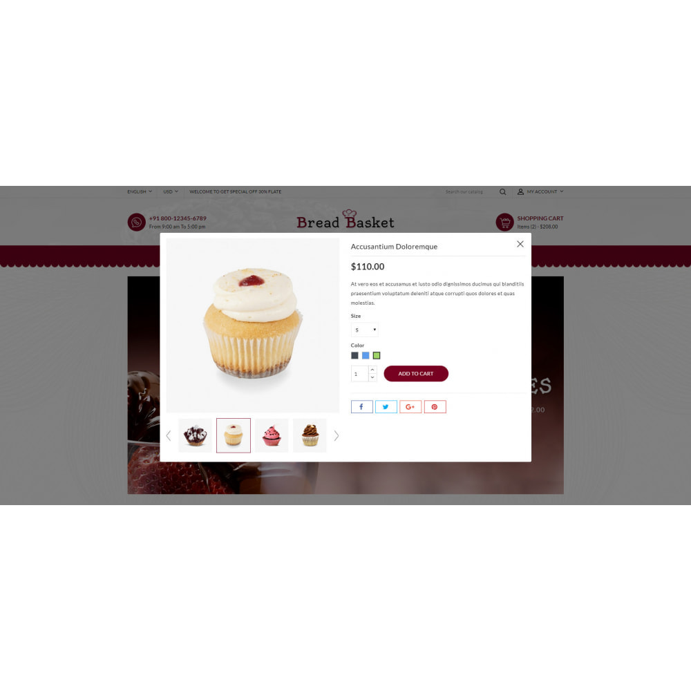 theme - Food & Restaurant - Bread Basket - Bakery Shop - 7