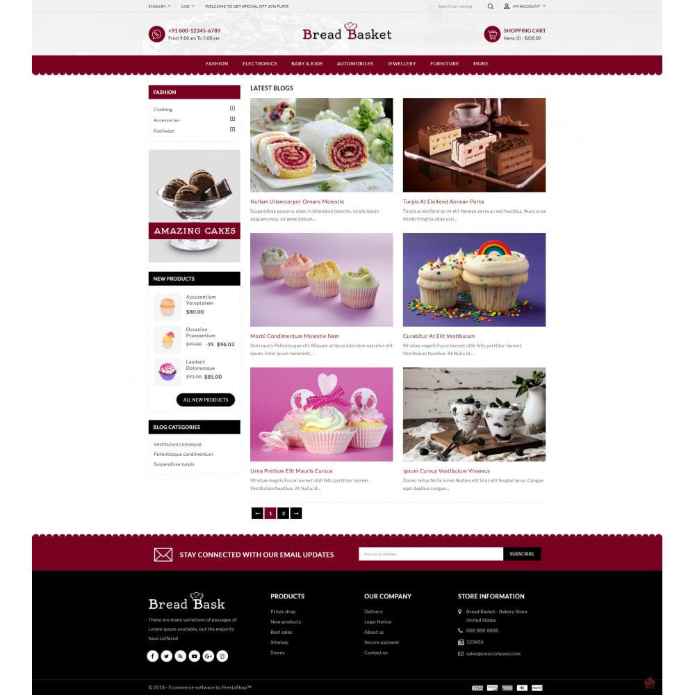 theme - Food & Restaurant - Bread Basket - Bakery Shop - 9