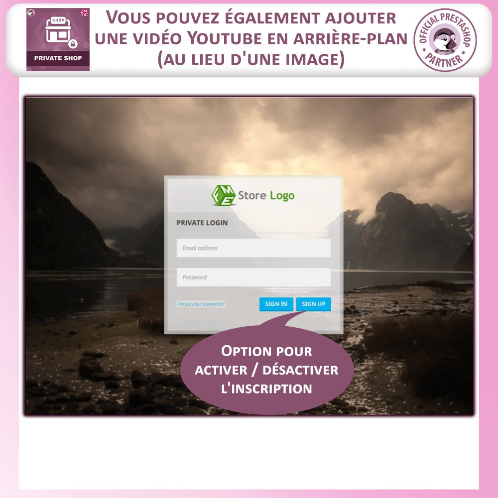 module - Ventes Flash & Ventes Privées - Magasin Privé, Connexion Pour Voir La Boutique - 3