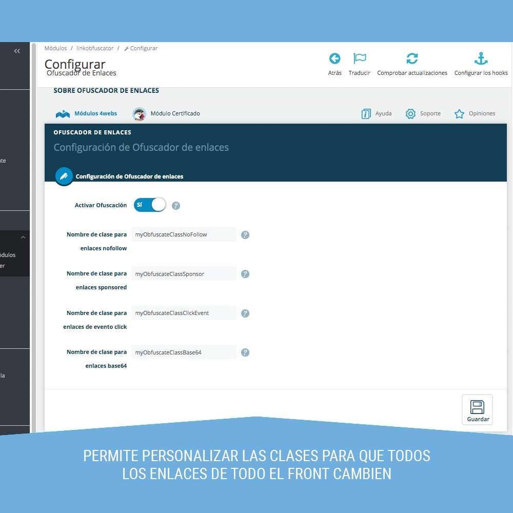 module - URL y Redirecciones - Ofuscador de Enlaces - 2
