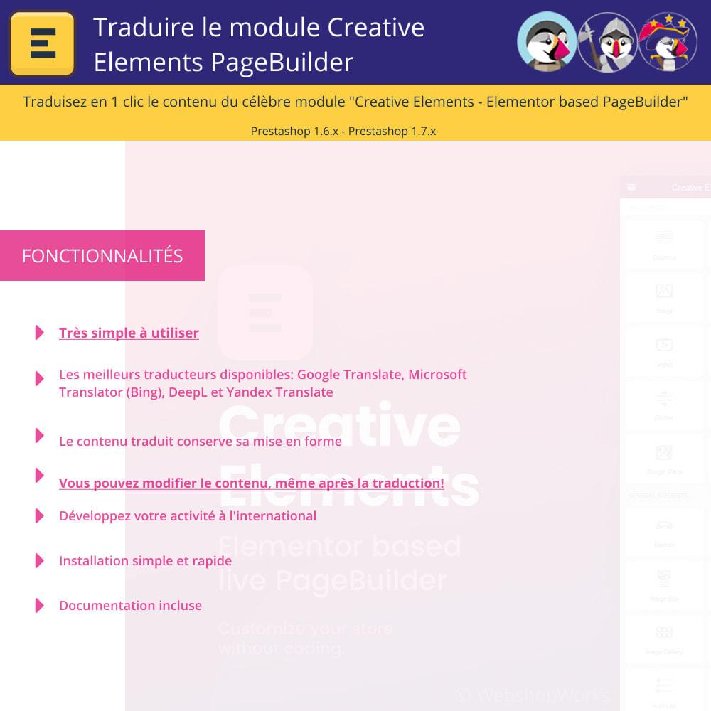 module - International & Localisation - Traduire Elementor (Creative Elements & Iqit) - 1