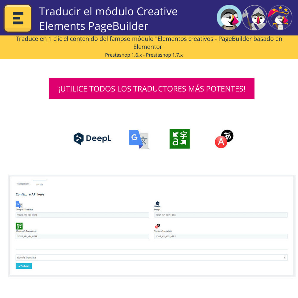 module - Internacionalización y Localización - Traducir Elementor (Creative Elements e Iqit) - 2