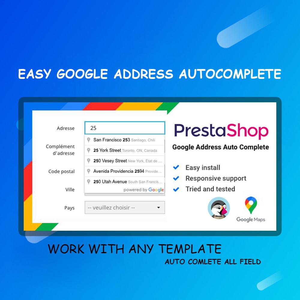 module - Registration & Ordering Process - Autocomplete Google Address - 1