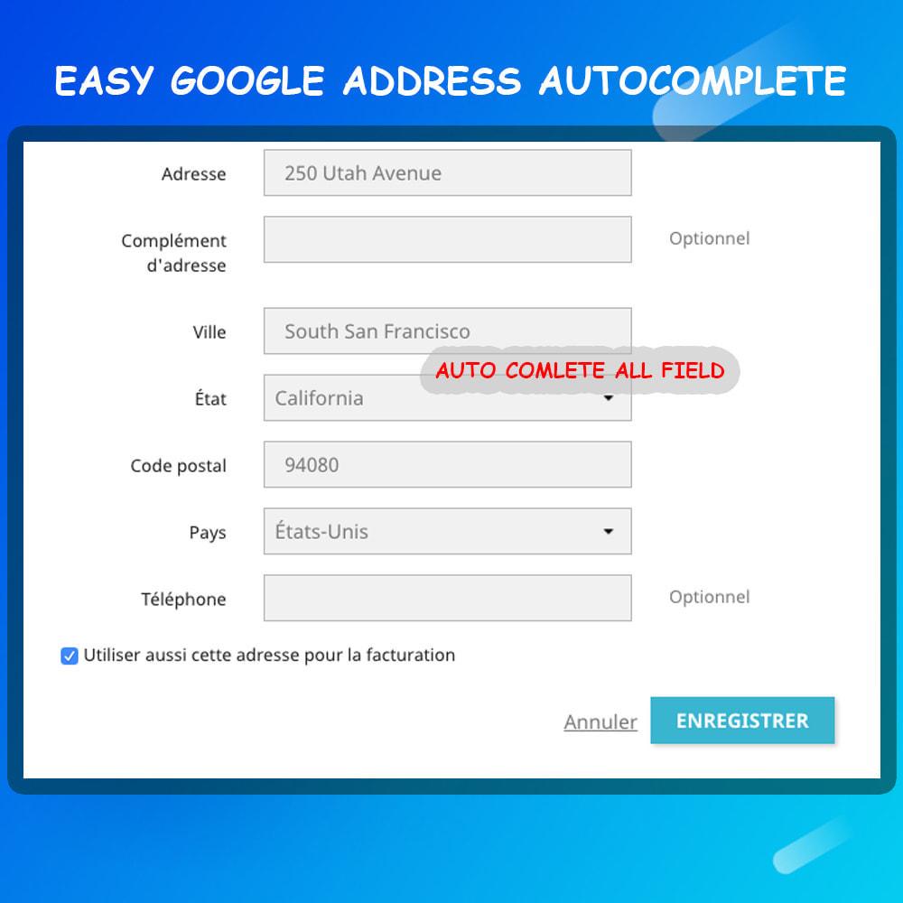 module - Registration & Ordering Process - Autocomplete Google Address - 3