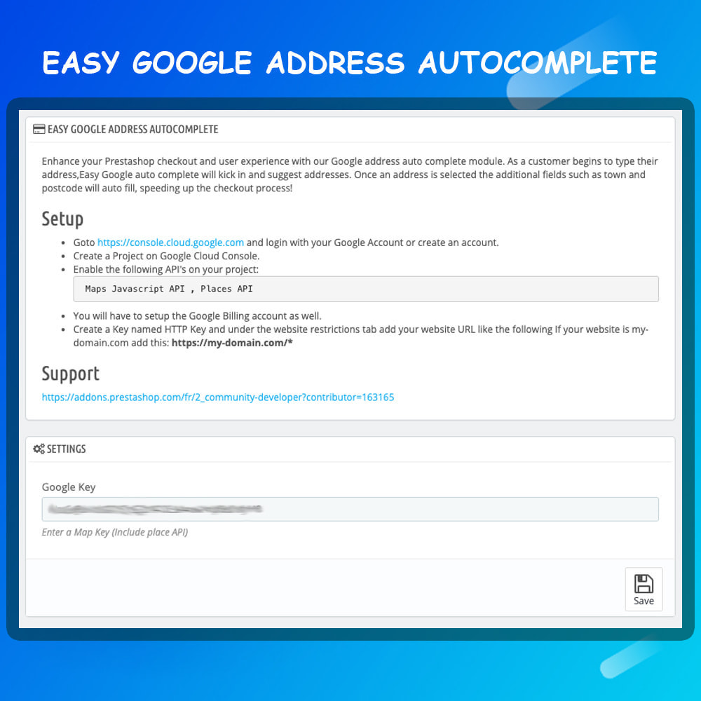 module - Registration & Ordering Process - Autocomplete Google Address - 4