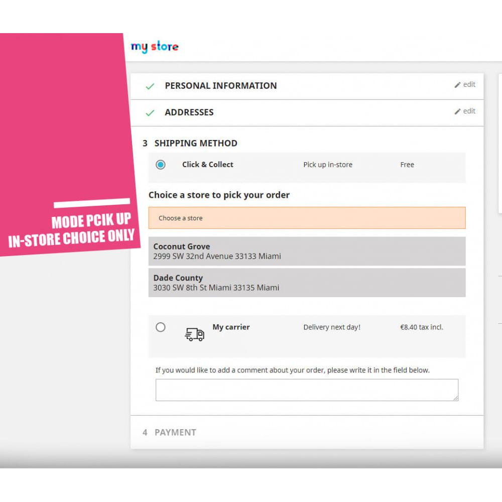 module - Пункты выдачи и Получение в магазине - Drive and Click & Collect / Pick up in-store - 4