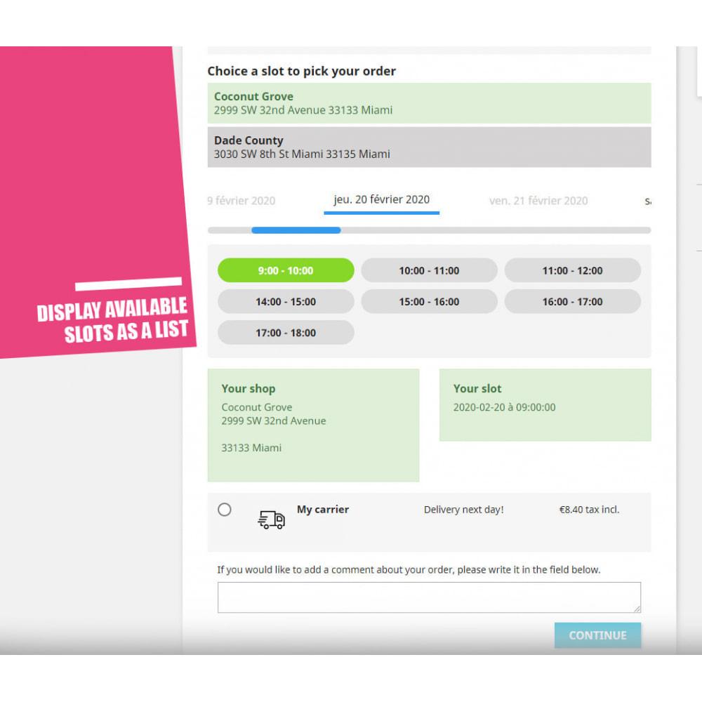 module - Пункты выдачи и Получение в магазине - Drive and Click & Collect / Pick up in-store - 7