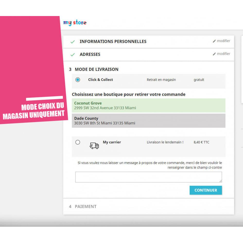 module - Point Relais & Retrait en Magasin - Drive et Click & Collect / Retrait magasin - 5