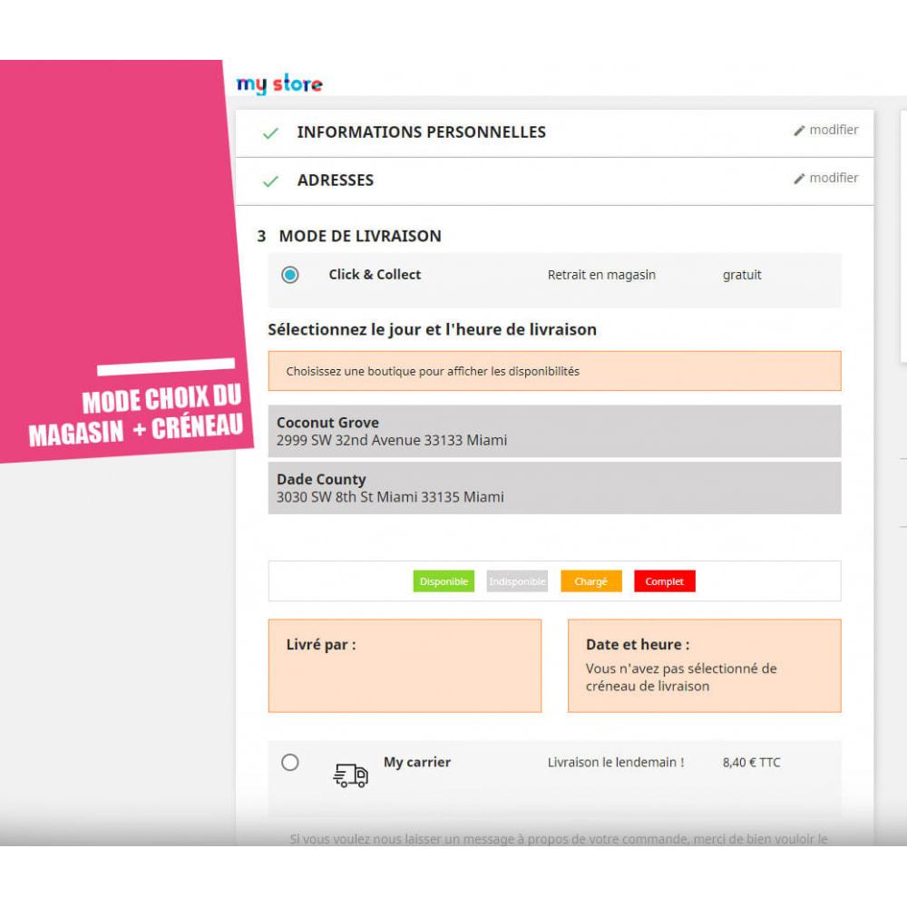 module - Point Relais & Retrait en Magasin - Drive et Click & Collect / Retrait magasin - 6