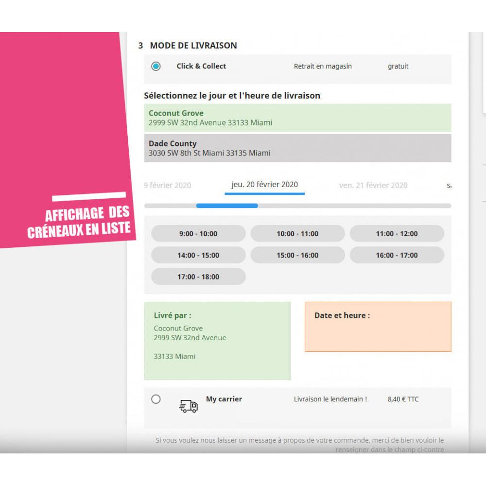 module - Point Relais & Retrait en Magasin - Drive et Click & Collect / Retrait magasin - 7