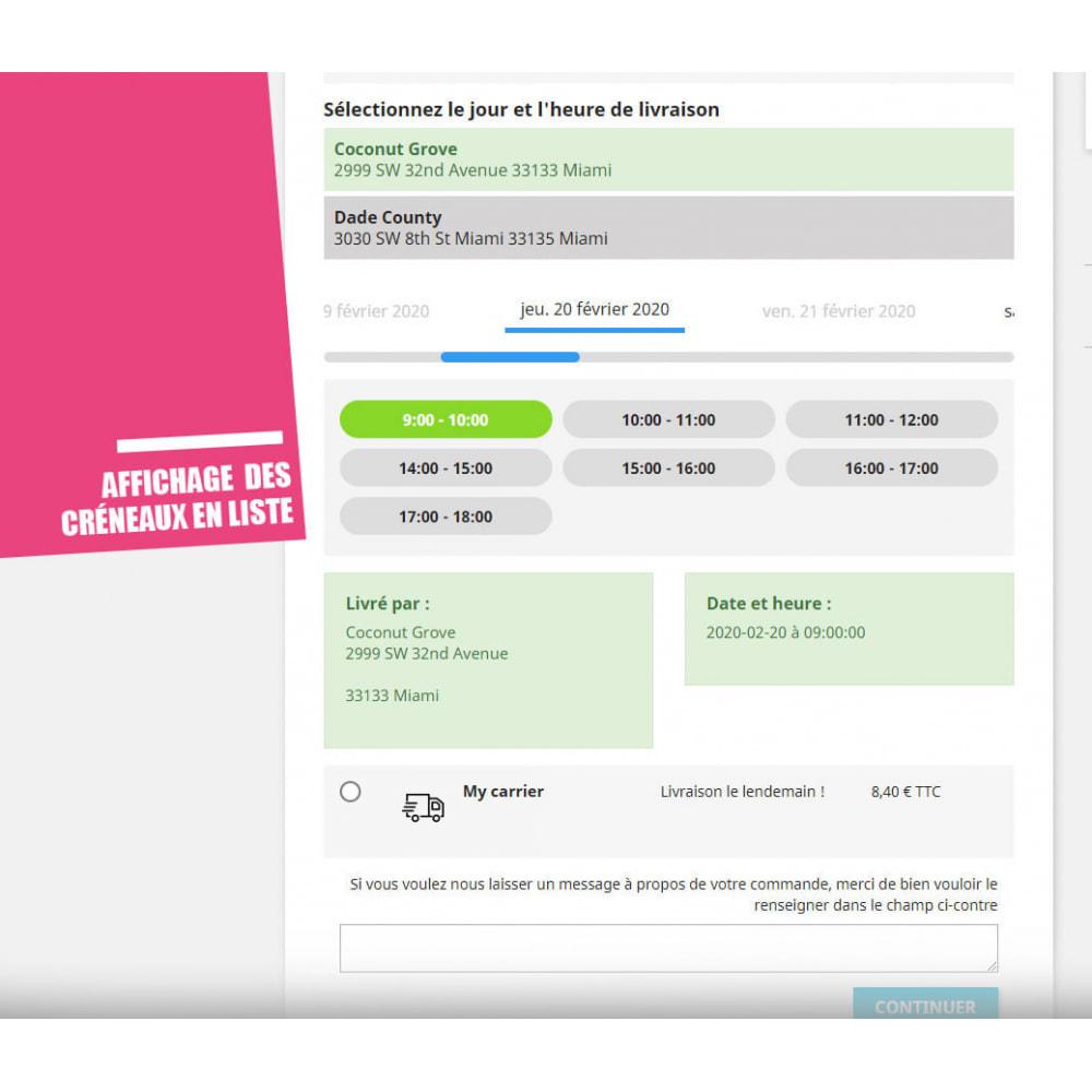 module - Point Relais & Retrait en Magasin - Drive et Click & Collect / Retrait magasin - 8