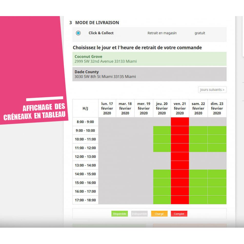 module - Point Relais & Retrait en Magasin - Drive et Click & Collect / Retrait magasin - 9