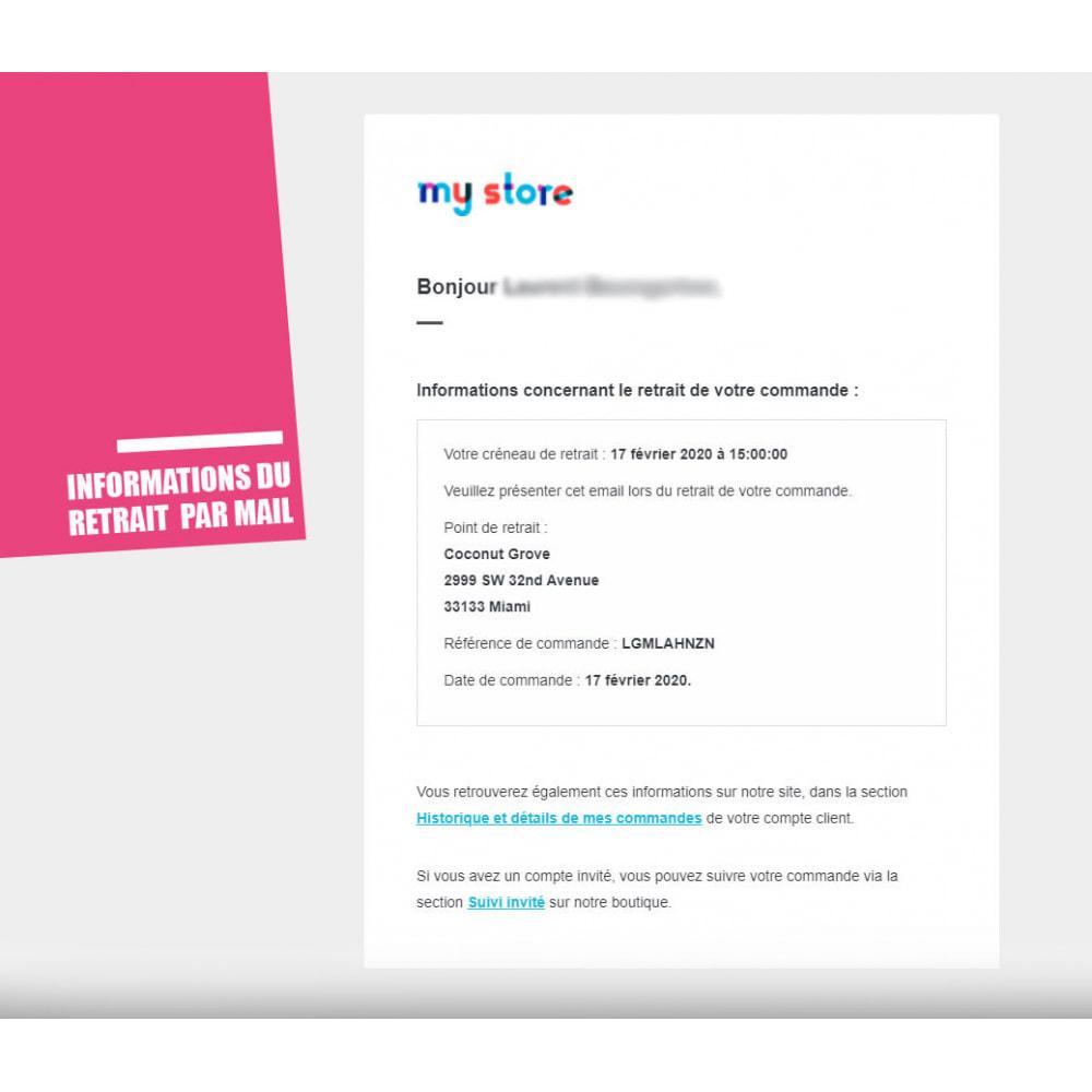 module - Point Relais & Retrait en Magasin - Drive et Click & Collect / Retrait magasin - 11