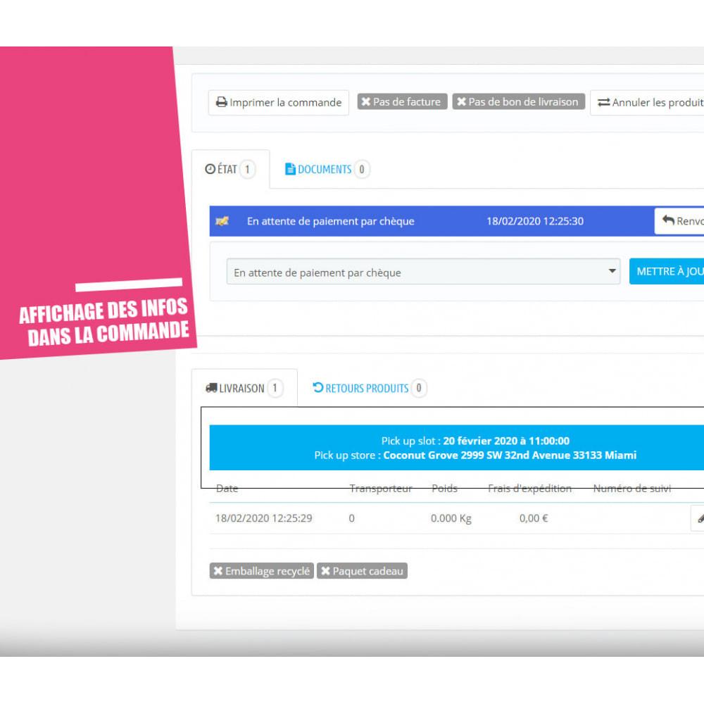 module - Point Relais & Retrait en Magasin - Drive et Click & Collect / Retrait magasin - 16
