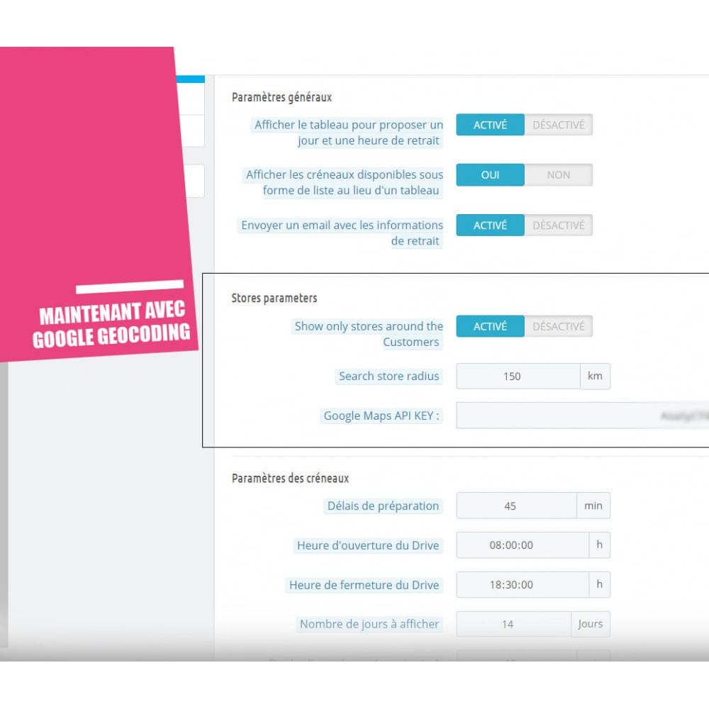 module - Point Relais & Retrait en Magasin - Drive et Click & Collect / Retrait magasin - 17