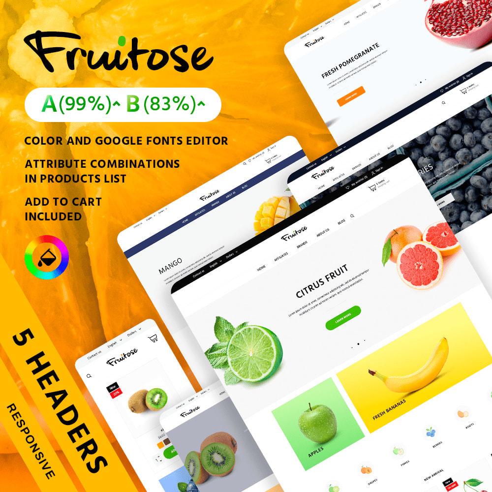 theme - Cibo & Ristorazione - Fruitose - 2