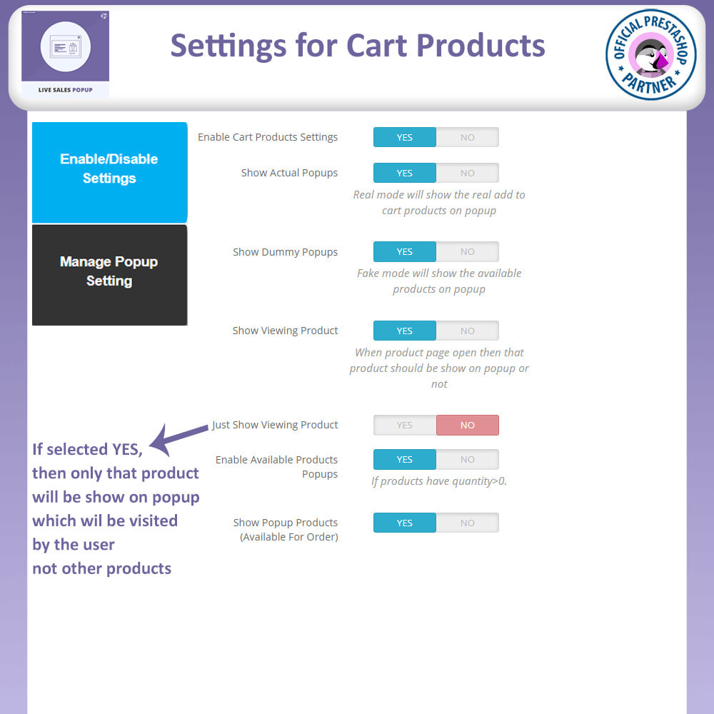 module - Pop-up - Live Sales Popup   Sold Product Notification - 12