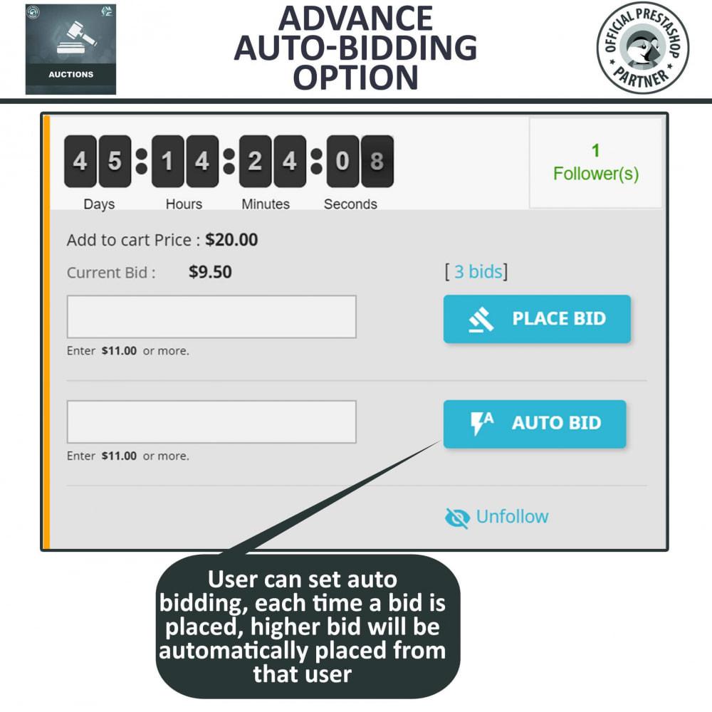 module - Auction Site - Auction Pro, Online Auctions & Bidding - 9