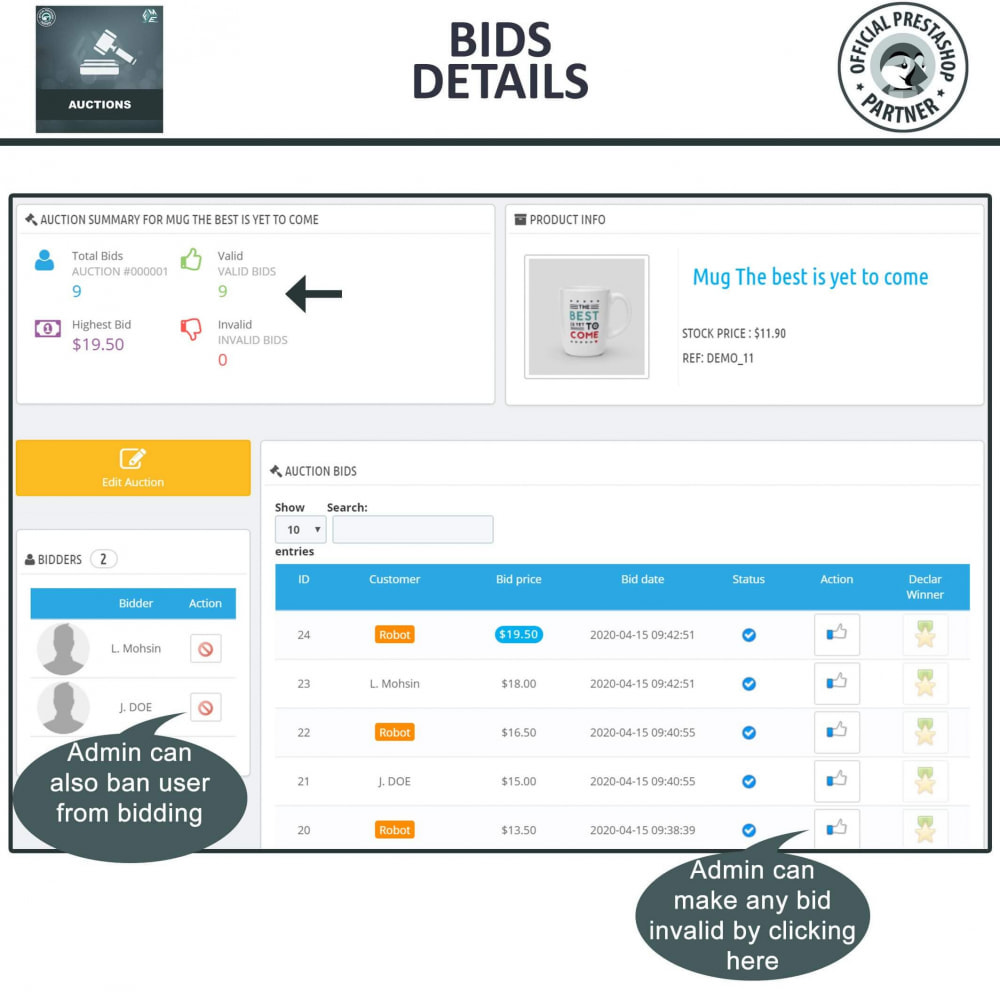 module - Auction Site - Auction Pro, Online Auctions & Bidding - 15