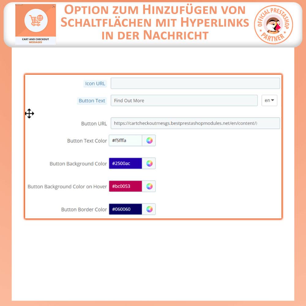 module - Anmeldung und Bestellvorgang - Warenkorb und Checkout-Nachrichten - 5