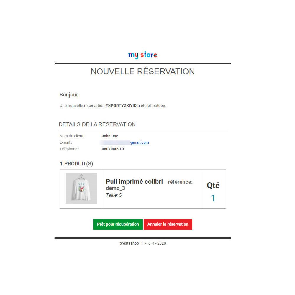 module - Gestion des Stocks & des Fournisseurs - Click & Collect Advanced / E-Reservation - 6
