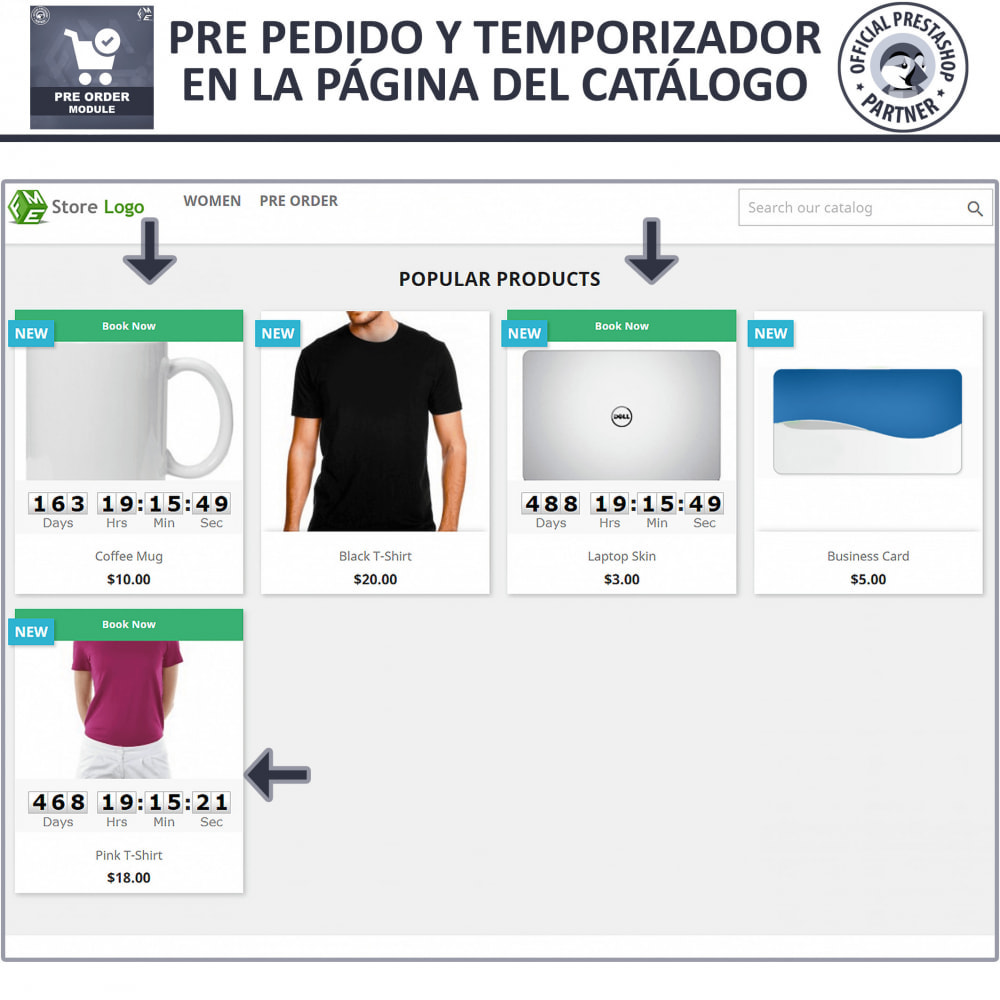 module - Inscripción y Proceso del pedido - Pre-Order - Advance Booking | Out of Stock Selling - 2