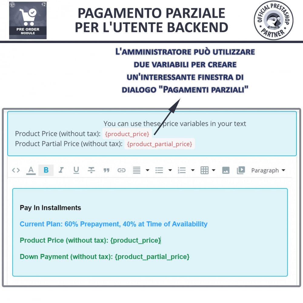 module - Iscrizione e Processo di ordinazione - Pre-Order - Advance Booking   Out of Stock Selling - 12