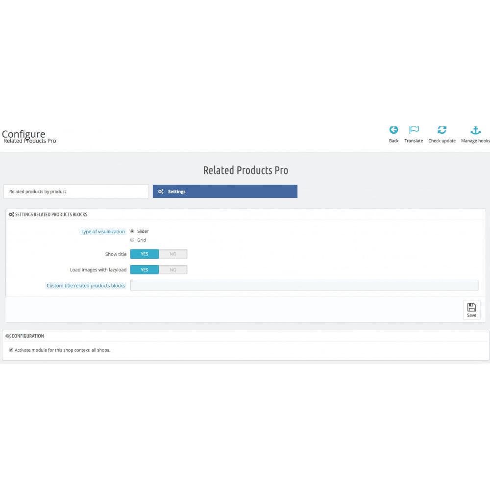 module - Kruisverkoop & Pakketaanbiedingen - Slider Related Products Pro - 3