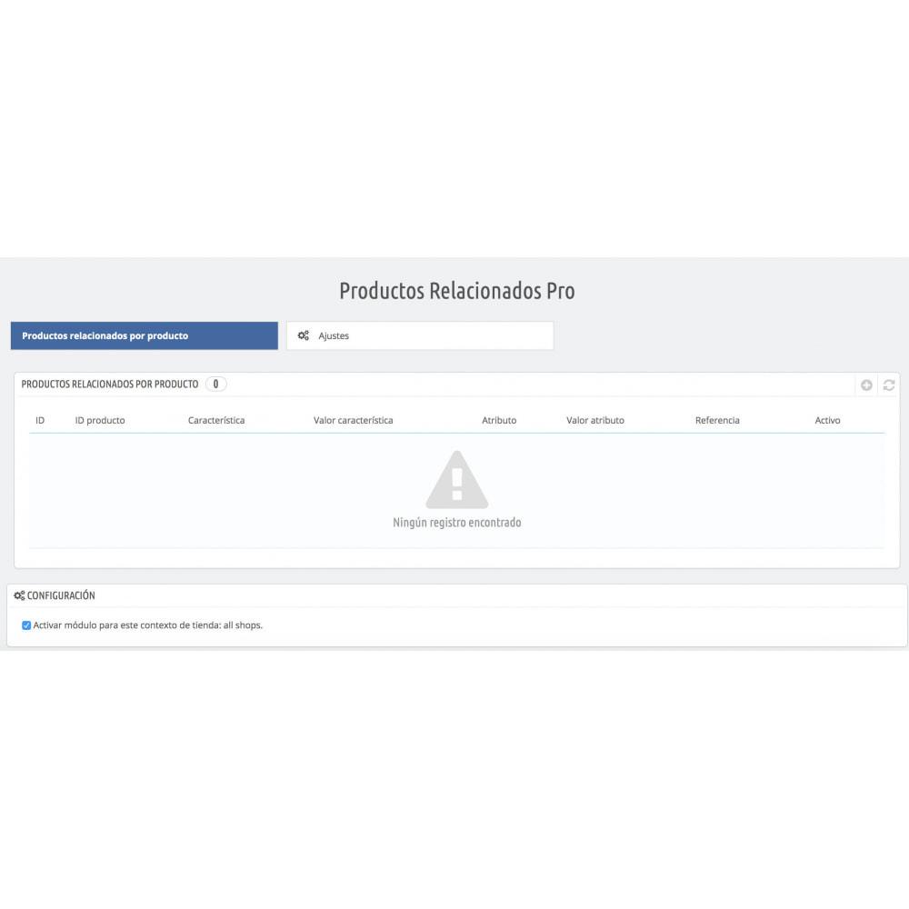 module - Ventas cruzadas y Packs de productos - Slider Productos Relacionados Pro - 2